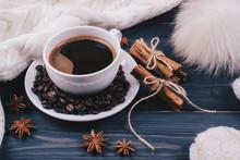 Coffee Or Chocolate With Cinna...