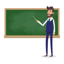 The Teacher In The Classroom N...