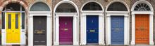 Set Of Colored Doors In Dublin...