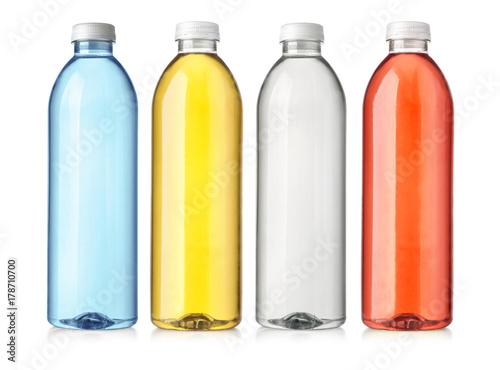 Fotografia, Obraz  drink in plastic bottle