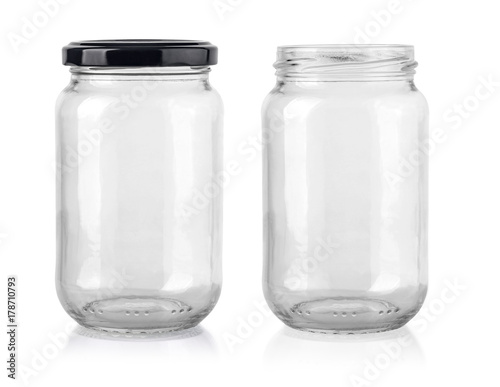 Fotografija Glass jar isolated