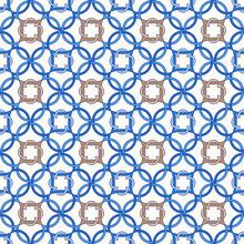 Portuguese Tiles, Quatrefoil  ...