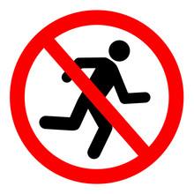 Zakaz Biegania