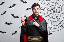 Vampire Halloween Concept - Po...