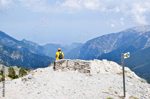 Fotografija  Respite while climbing Olympus.