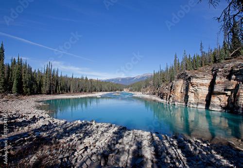 Zdjęcie XXL Jezioro w Athabasca Falls