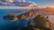 Sunset On Rio From The Sugar L...