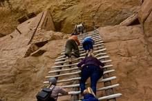 Climbing Anasazi Ruins - A Gro...