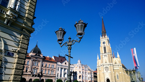 The Central Square In The City Of Novi Sad In Serbia In Clear Weather Buy This Stock Photo And Explore Similar Images At Adobe Stock Adobe Stock Hi/low, realfeel®, precip, radar, & everything you need to be ready for the day, commute novi, mi. adobe stock
