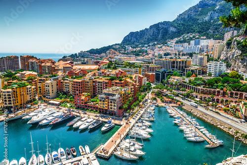 Fotografie, Obraz  Monaco Monte Carlo sea view
