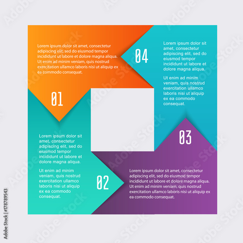 Vector colorful info graphics for your business presentations can vector colorful info graphics for your business presentations can be used website layout numbered ccuart Choice Image