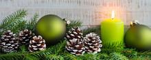Weihnachten - Dekoration Mit K...
