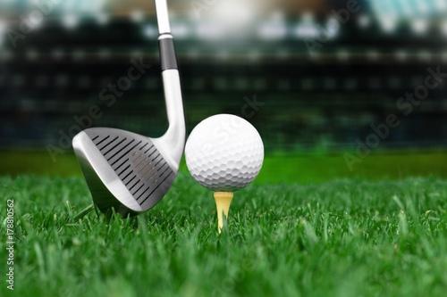 Plakat Golf.