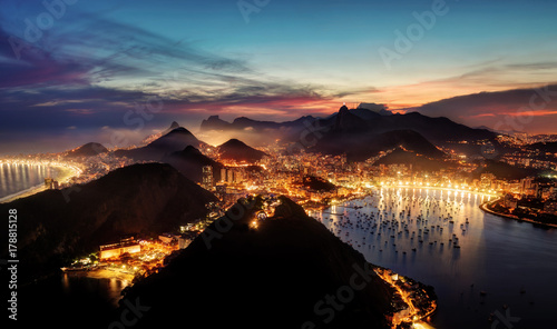 Montage in der Fensternische Rio de Janeiro Rio de Janeiro