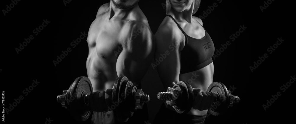 Fototapety, obrazy: Workout Training Fitness