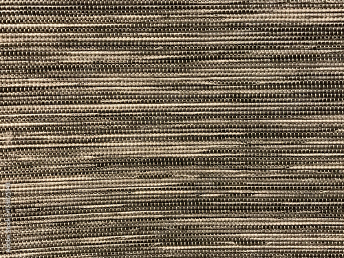 Fotografiet  Gray woven carpet texture and background