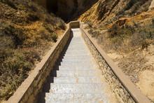 Steps At Ponta Da Piedade In P...