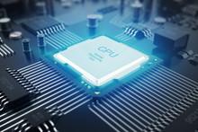 3D Rendering Circuit Board. Te...
