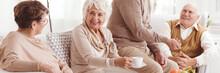 Elder Ladies Talking