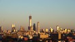 Beijing downtown district skyline at sunset,Beijing,China.
