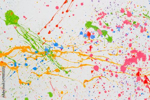 Photo  Pollock  art texture graphic drawn backdrop wallpaper