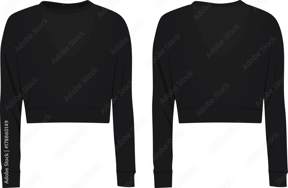 Fototapety, obrazy: Crop sweater. vector illustration