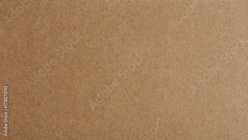 Obraz Flat brown paper background closeup - fototapety do salonu