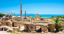 Ruins Of Ancient Carthage. Tun...