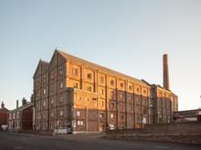 Old Malt Factory Building In Mistley Essex Outside