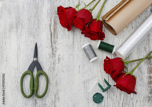 Wrap flowers plastic flowers healthy paper or plastic stretch film as wrapping for red rose flowers mightylinksfo