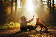Das Kind und der Fuchs