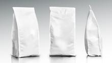 3D Blank Foil Or Paper Food Po...