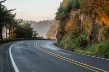 Highway 101 In Oregon Usa By H...