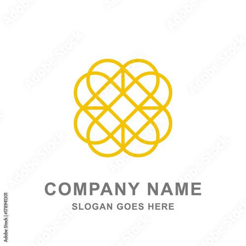 Gold Flower Ornament Mandala Abstract Aromatherapy Logo Buy This Stock Vector And Explore Similar Vectors At Adobe Stock Adobe Stock