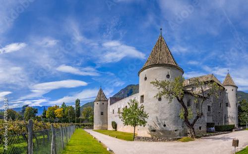 Fototapeta  Schloss Maretsch Castle in Bolzano, South Tyrol