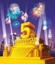 Golden 5th Anniversary Against...