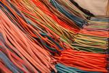 Fototapeta Tęcza - Mixed colorful candies background