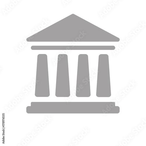 Obraz na plátně Bankgebäude