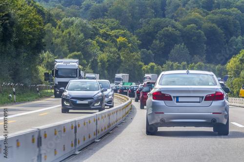 Plakat Autostrada w południowych Niemczech
