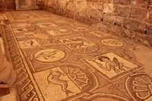 Ancient Mosaic Tile Floor In G...