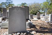 Headstone In Jewish Cemetery W...
