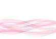 smooth pink peach swoosh wave moving floating