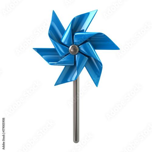 Valokuvatapetti Blue pinwheel