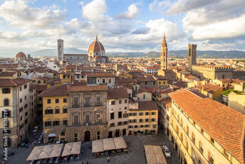 Foto op Canvas Europa City view of Florence, Tuscany, Italy