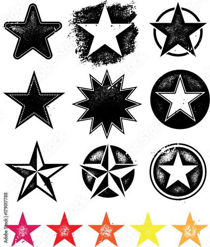 Obraz Vector Stars - fototapety do salonu