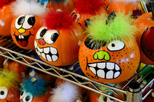 Crazily Painted Pumpkins Provi...