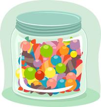 Antonym Jar Candy Full Illustr...
