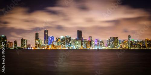 Fototapeta Miami, Floryda - Downtown sSkyline