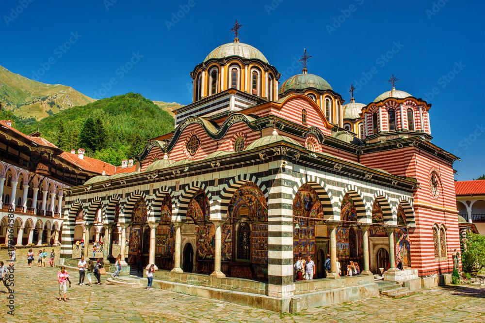 Fototapety, obrazy: Rila Monastery, Bulgaria