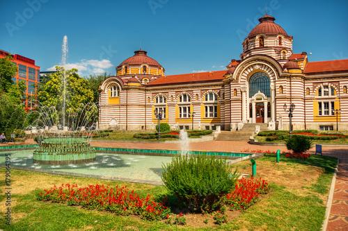 Central Mineral Baths, Sofia, Bulgaria